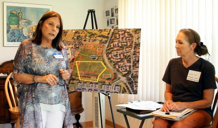 Local Residents Meet to Learn About Plans to Plant Trees in Roberts Ridge Park